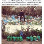 """#trashchallenge: i ragazzi """"annoiati"""" ora puliscono il mondo"""