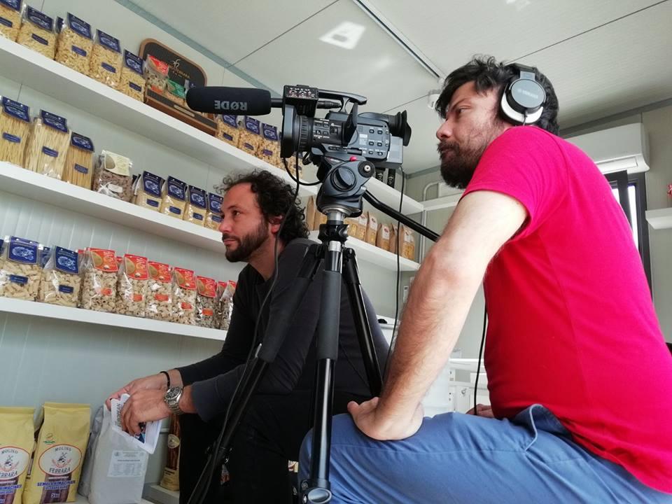 Paolo Cignini e Daniel Tarozzi in Sicilia