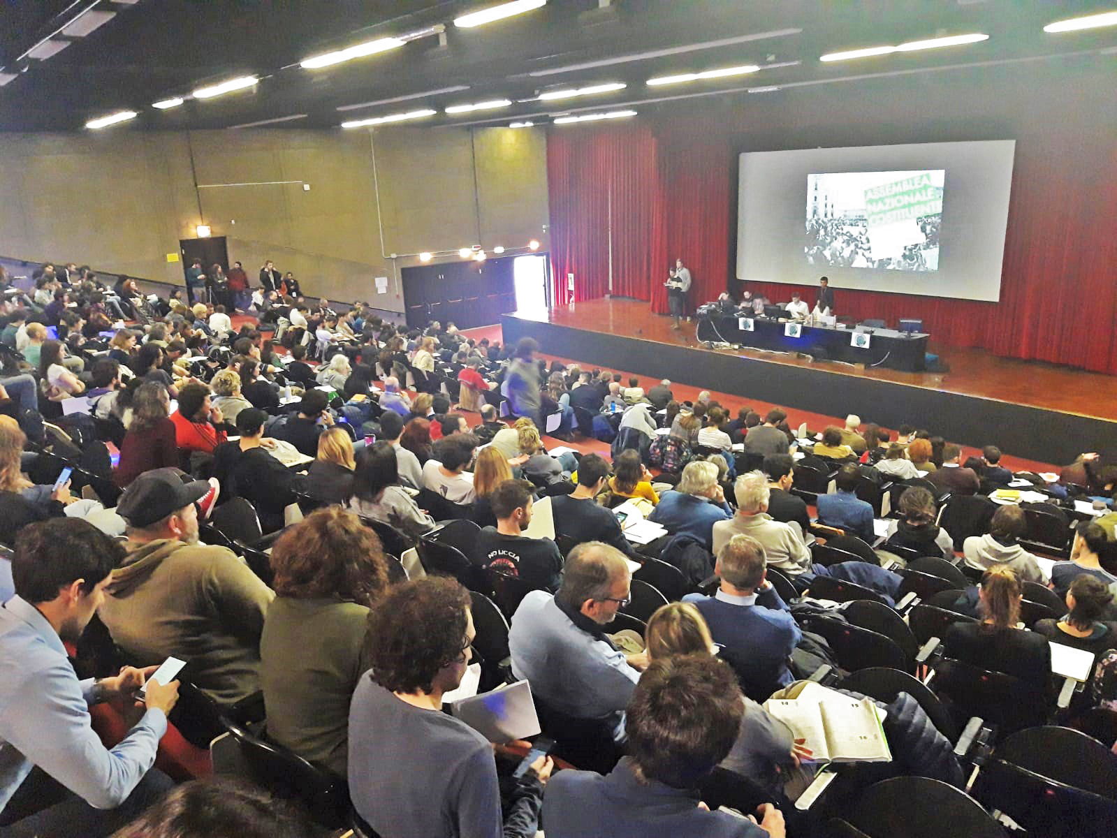 L'Assemblea nazionale di Fridays for Future a Milano