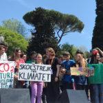 Greta. A Roma e nelle voci di tutti i giovani attivisti