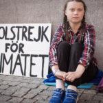 Un palco a pedali per Greta Thunberg a Roma