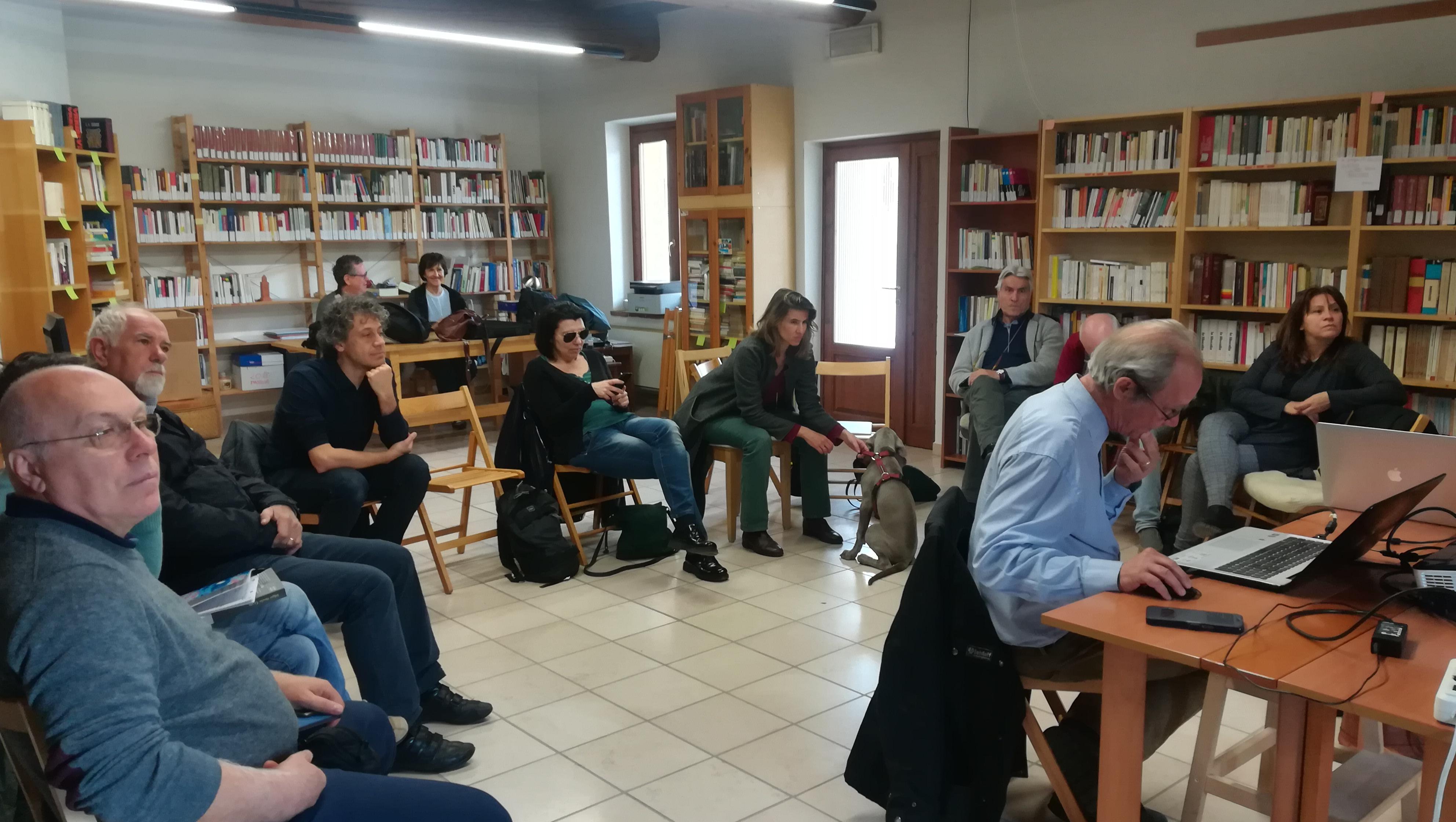 L'incontro al al Monastero del Bene Comune di Sezano (VR)