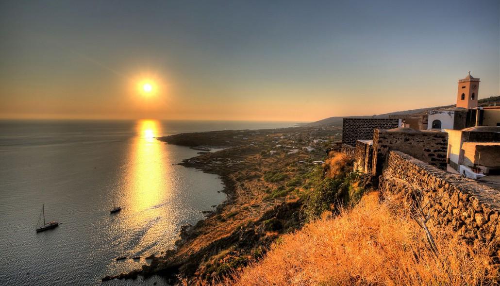 Pantelelria Scauri al tramonto