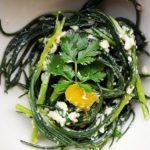 Ricette #25 – Agretti al pesto di anacardi e coriandolo