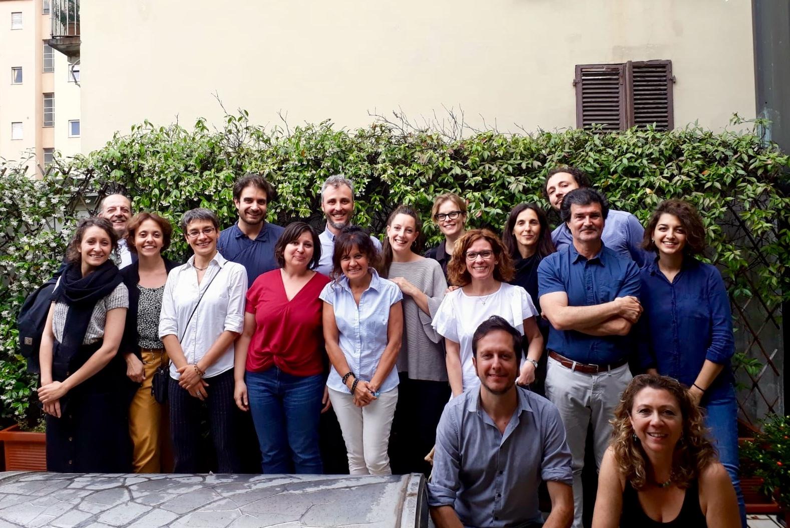 Il team di #SOStenibilmente riunito a Torino