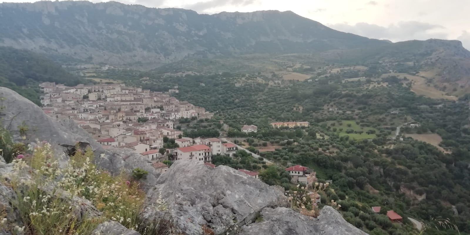 Veduta di Civita