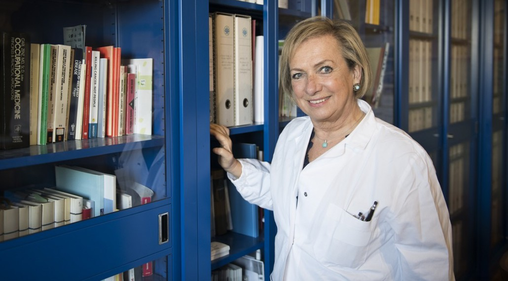 Fiorella Belpoggi, direttrice dell'Istituto Ramazzini