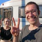 Viaggiare per ripulire l'Italia dai rifiuti: la storia di Edoardo e Valentina