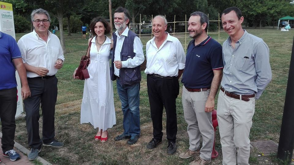 Durante la quarta edizione del festival Ecofuturo