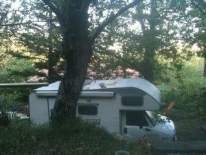 camper in attesa