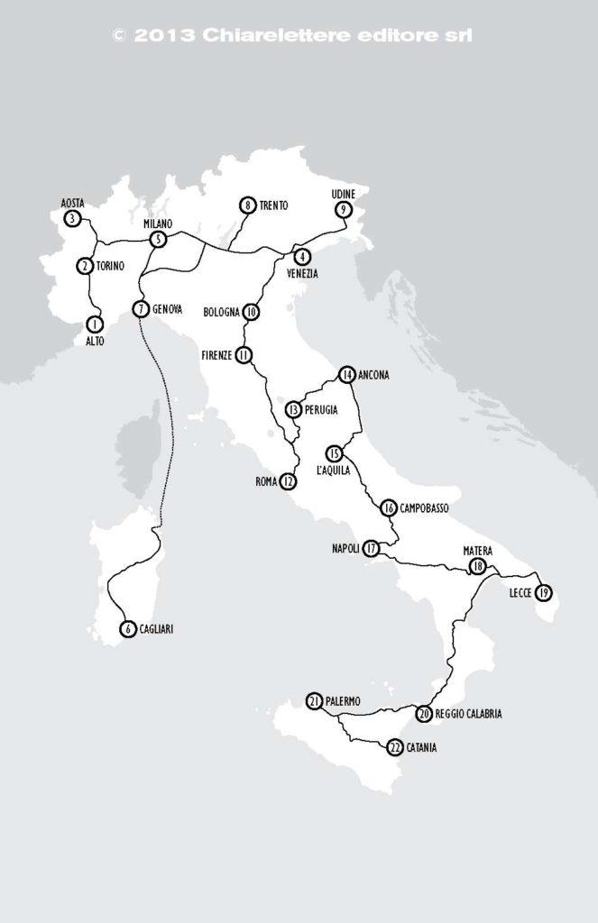 cartina tarozzi