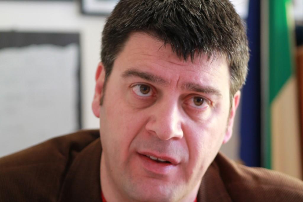 Il sindaco di Melpignano Ivan Stomeo, membro del Comitato Direttivo nazionale dell'Associazione Comuni Virtuosi e Presidente dell'Associazione Borghi Autentici d'Italia