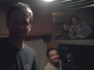 Prima notte in camper...