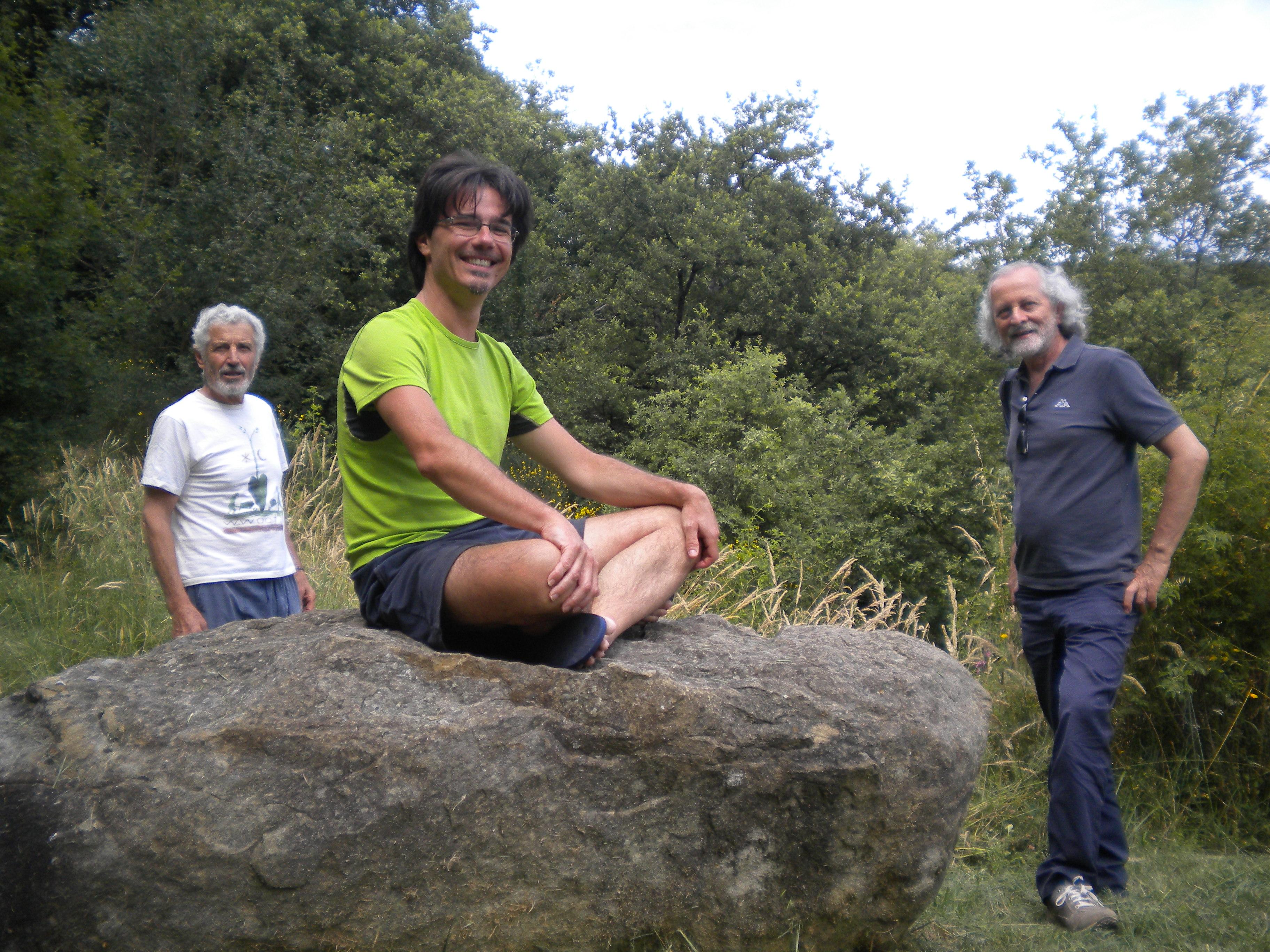 Al Centro Panta Rei, con Dino Mengucci e l'amico di #2RR Tullio Bugari