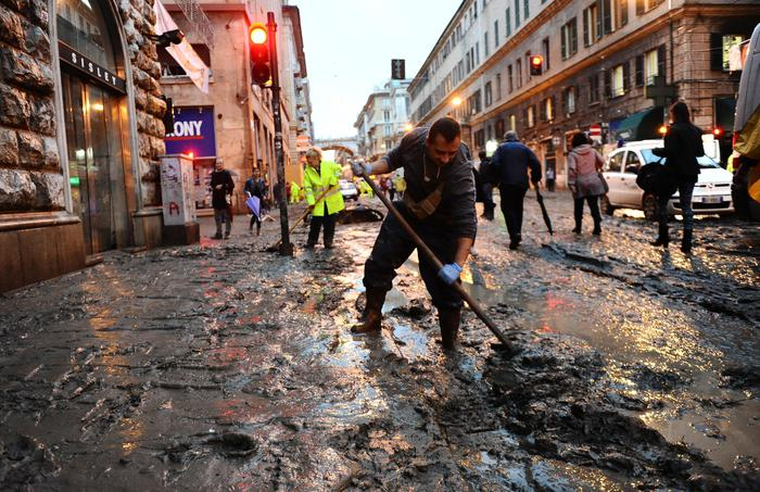 Alluvione Genova: Doria,Bisagno ha superato livelli del 2011