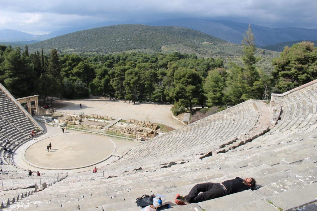 L'antico teatro di Epidauros