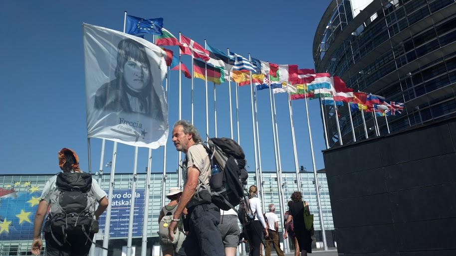 Freccia d'Europa, il cammino da Mantova a Strasburgo