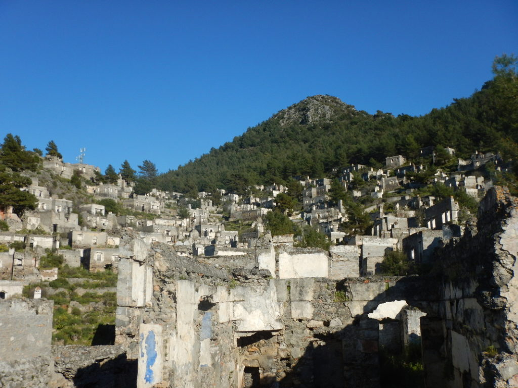 Kayaköy, un villaggio greco abbandonato