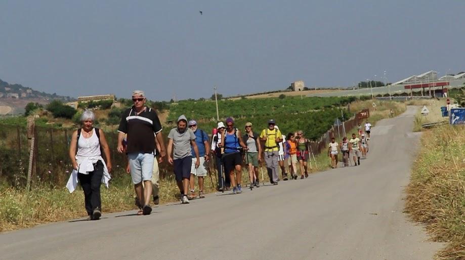 Cammino in Sicilia - Foto di Francesca Consoli