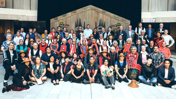 Incontro tra la Eagle Spirit Energy company e i rappresentanti di 30 First Nations Foto: Eagle Spirit Energy
