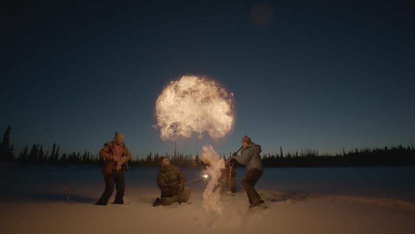 Esplosione di Metano (Foto Oceanic Preservation Society)