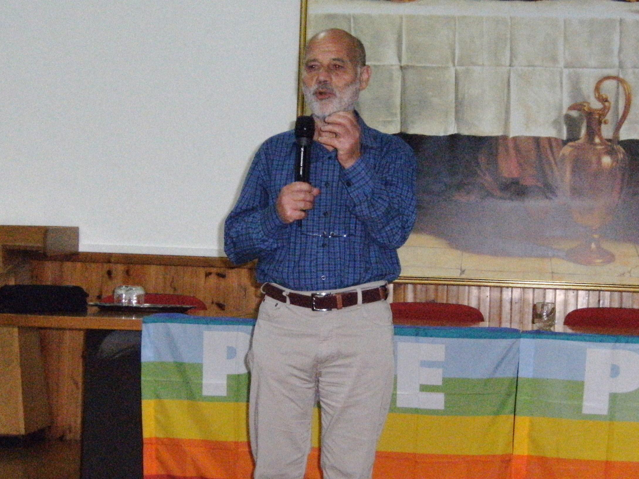 Francesco Gesualdi, fondatore del Centro Nuovo Modello di Sviluppo