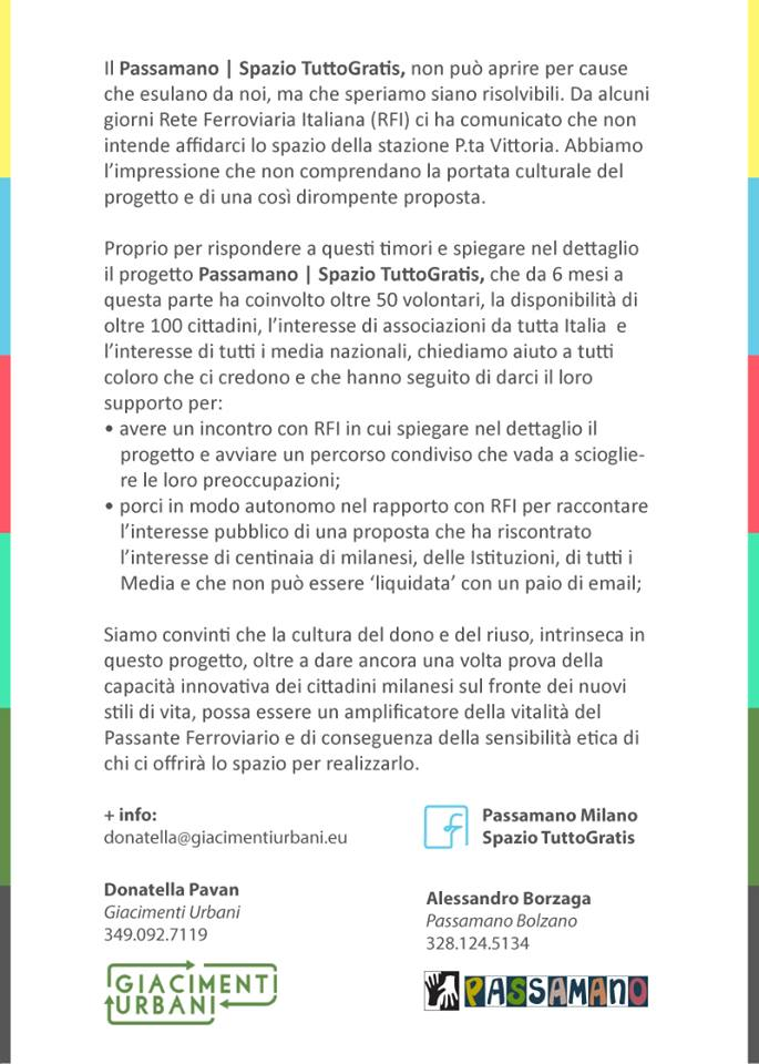 notice Passamano