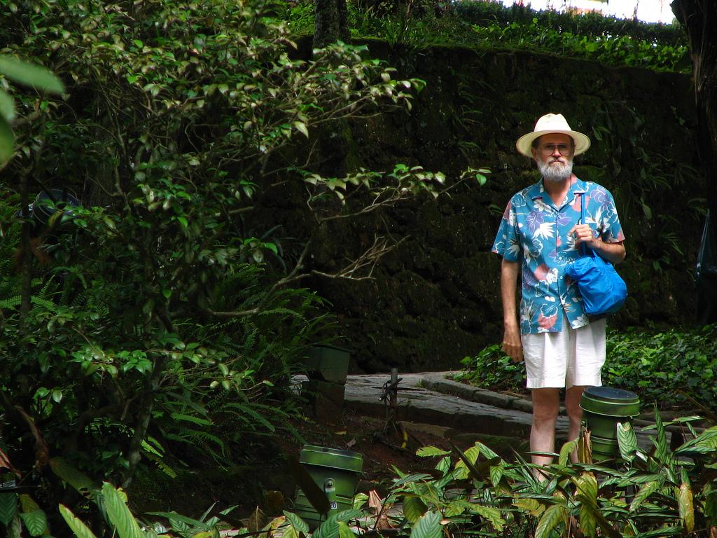 Tipico esempio di turista. Fonte: Federico Motta via Flickr