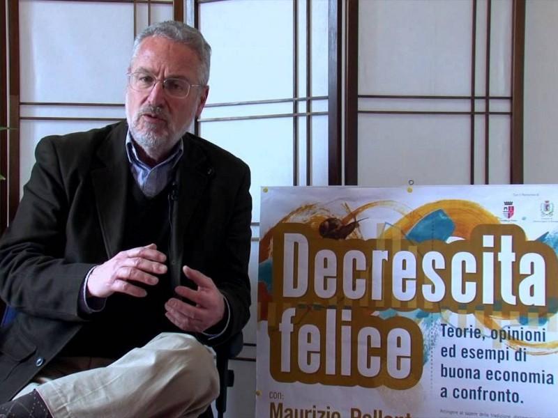 Maurizio Pallante, teorico della decrescita felice