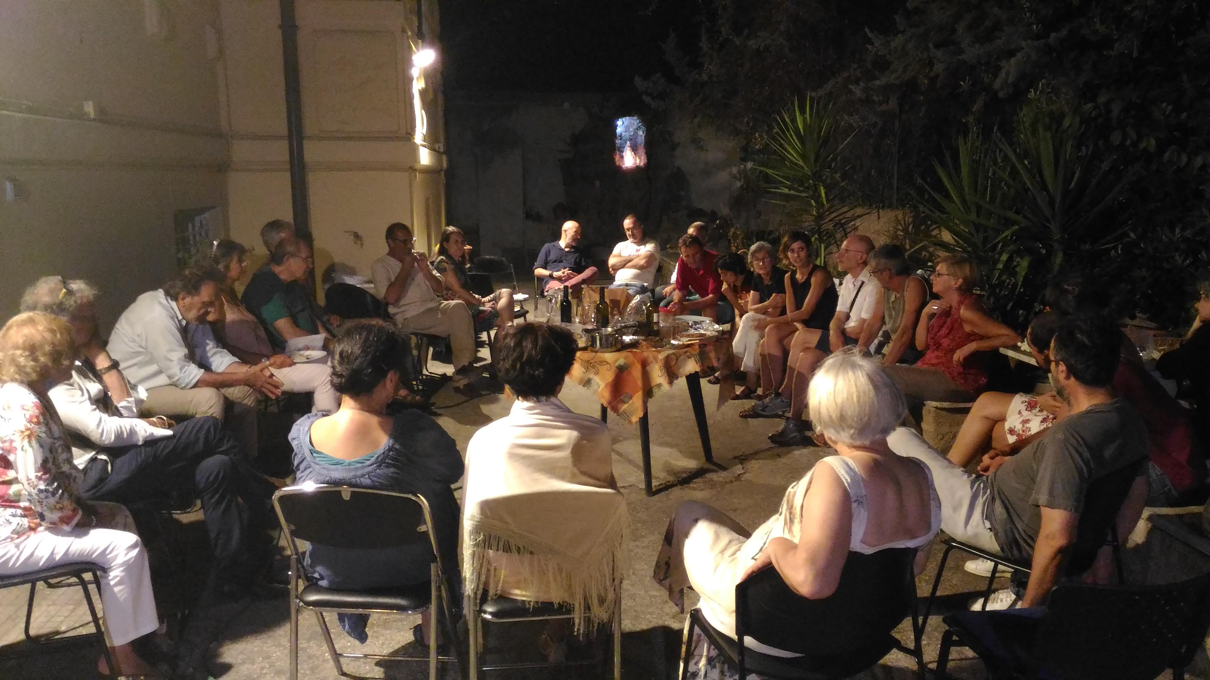 Un incontro di fine luglio, propedeutico alla nascita del Centro Studi e Pratiche sulla Sostenibilità Urbana