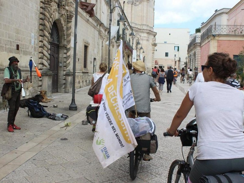 Il Bike tour a Matera