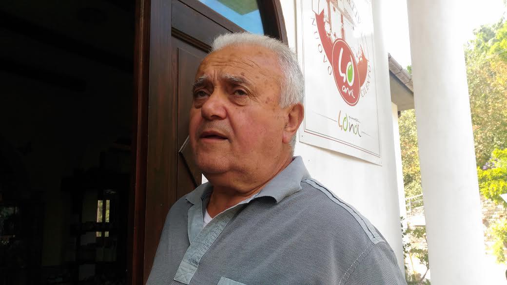 Peppino Cilento, presidente della cooperativa Nuovo Cilento
