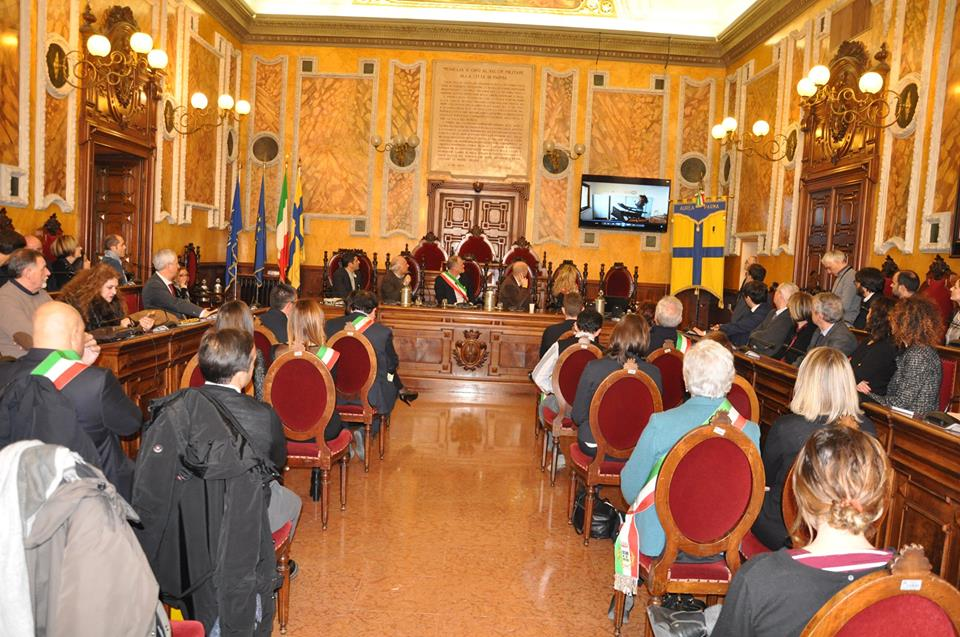 La cerimonia di premiazione si è svolta a Parma si è svolta a Parma, nella sala consiliare del Municipio