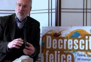#1 – Maurizio Pallante e la Decrescita Felice: il benessere al posto del PIL
