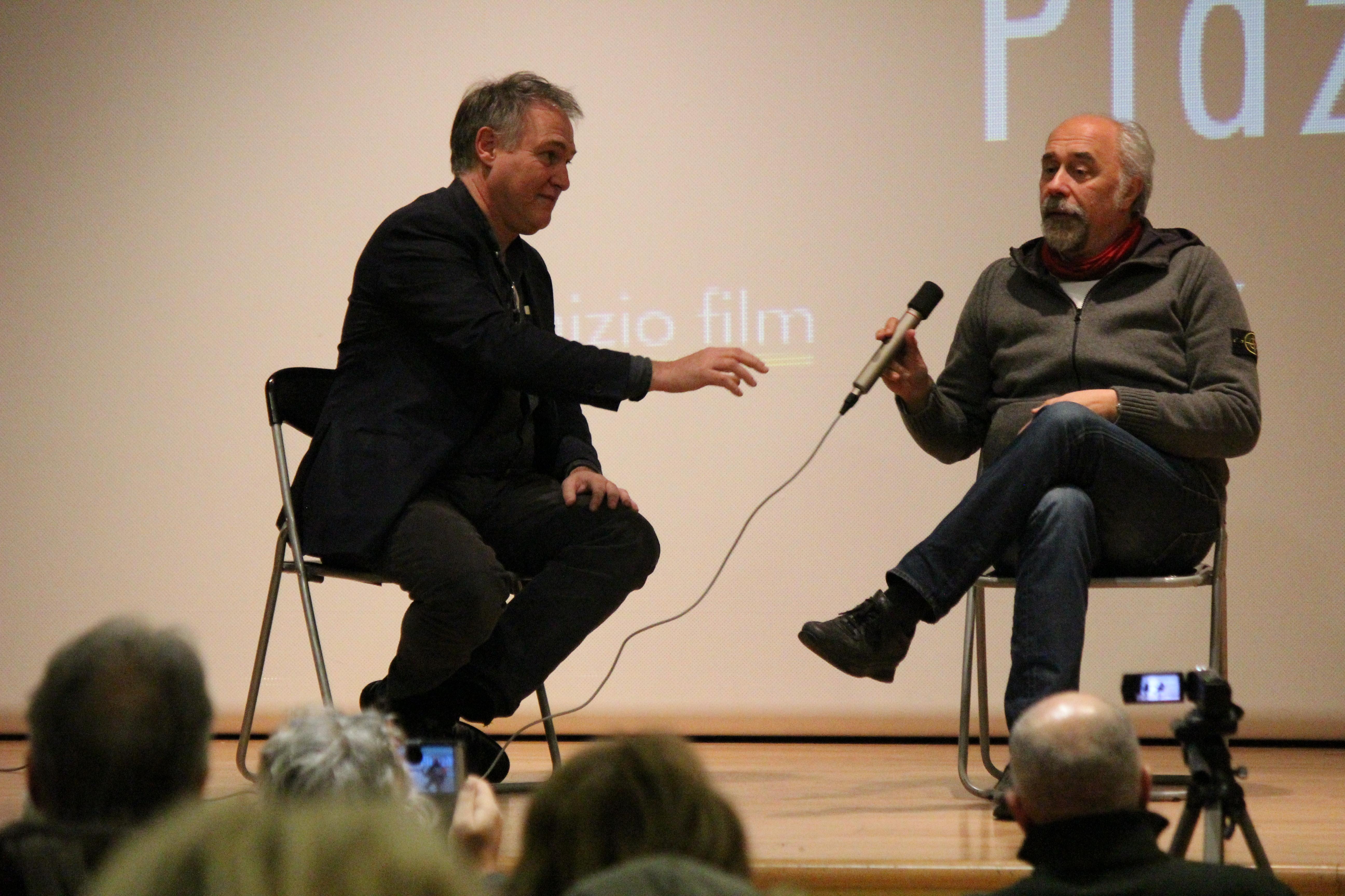 Massimo Angelini e Giorgio Diritti