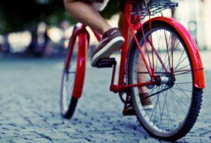 Bici in città a Bibbiena