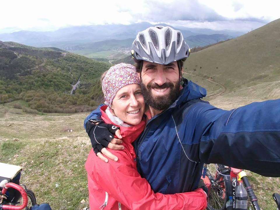 Tiphaine e Marco, i CycloLenti da tre anni in giro per il mondo