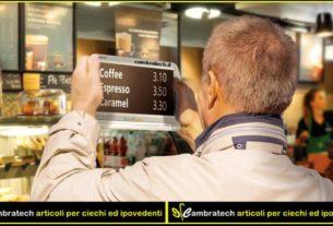 Cambratech: l'Imprenditore cieco che produce e testa oggetti per non vedenti