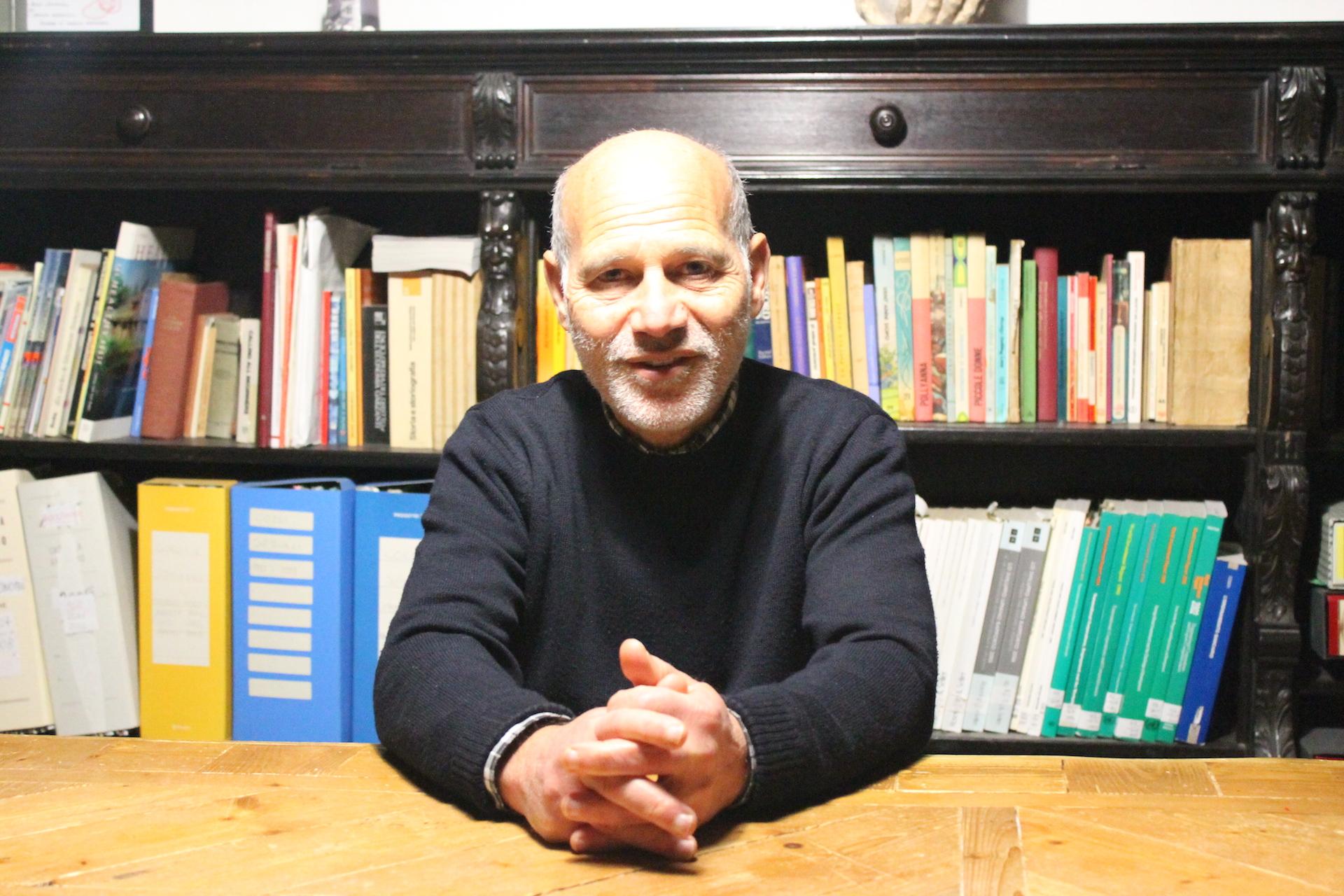 Francesco Gesualdi (Foto di Erica Canepa)