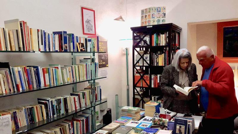 Anna Hilbe e la sua libreria