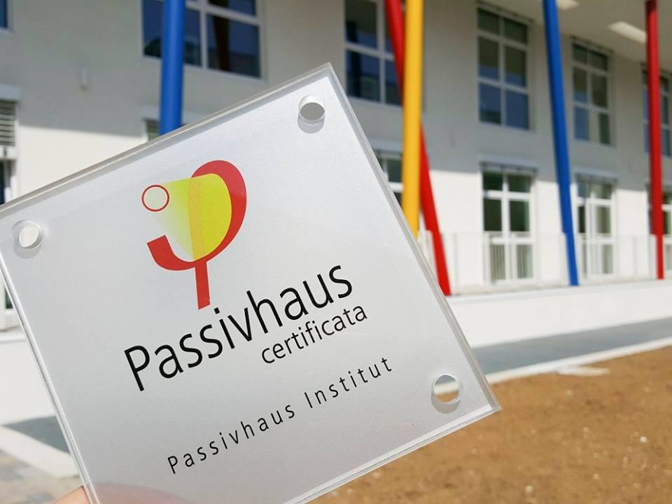 Il polo scolastico di Collecchio è la prima scuola in Emilia Romagna certificata Passivhaus
