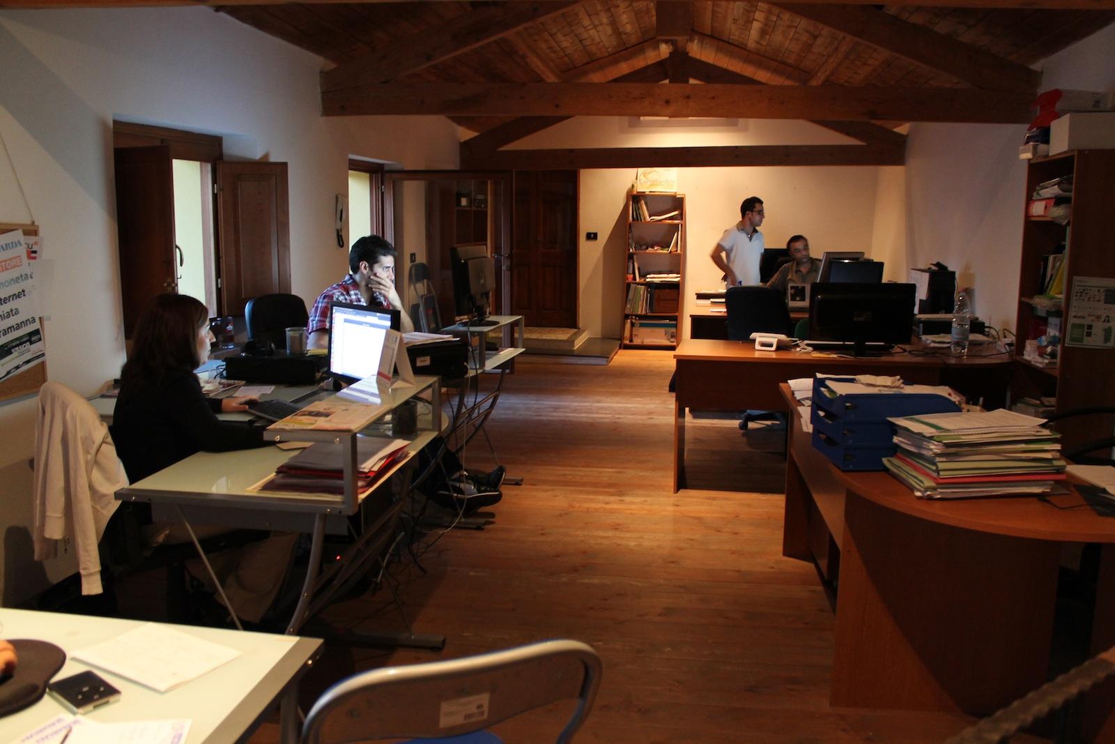 La sede di Sardex a Serramanna
