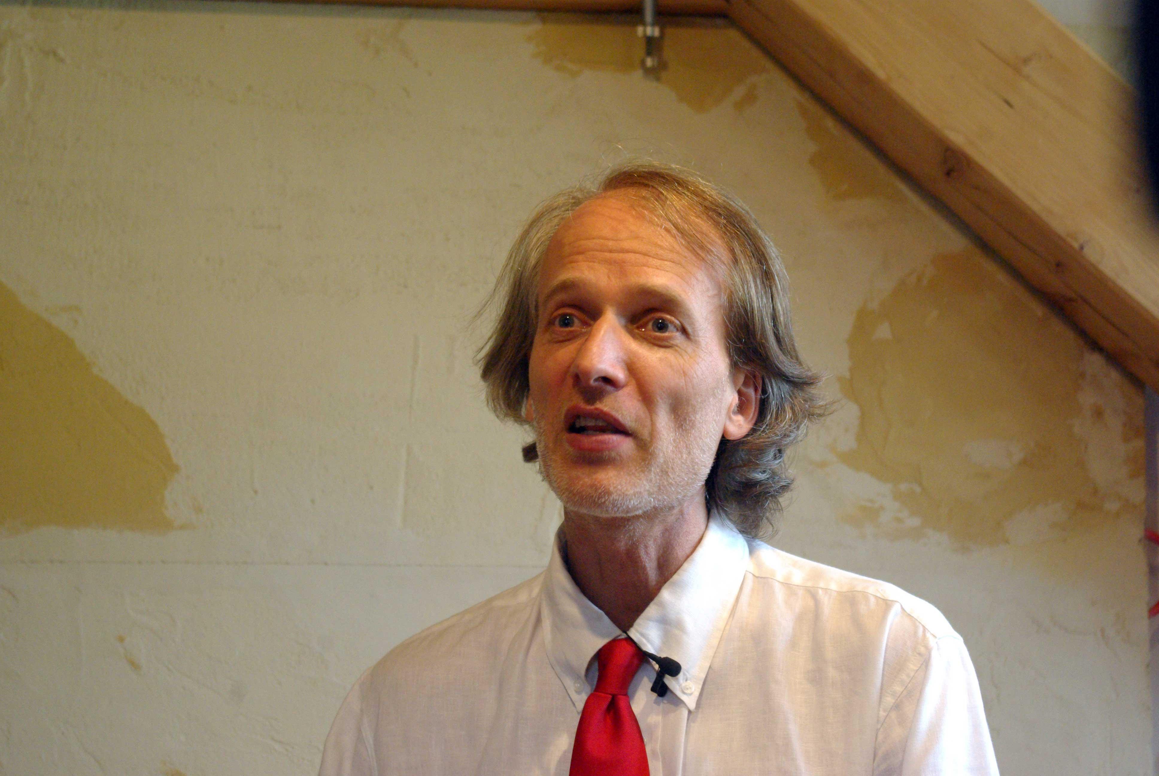 Bernhard Oberrauch, presidente della Federazione Italiana dell'Economia del Bene Comune