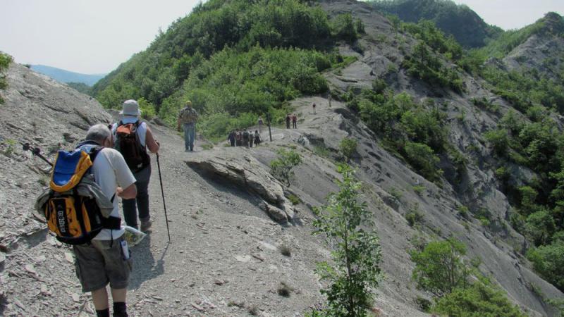 Sul passo Serra lungo la via Romea Autore: Parco Nazionale Foreste Casentinesi