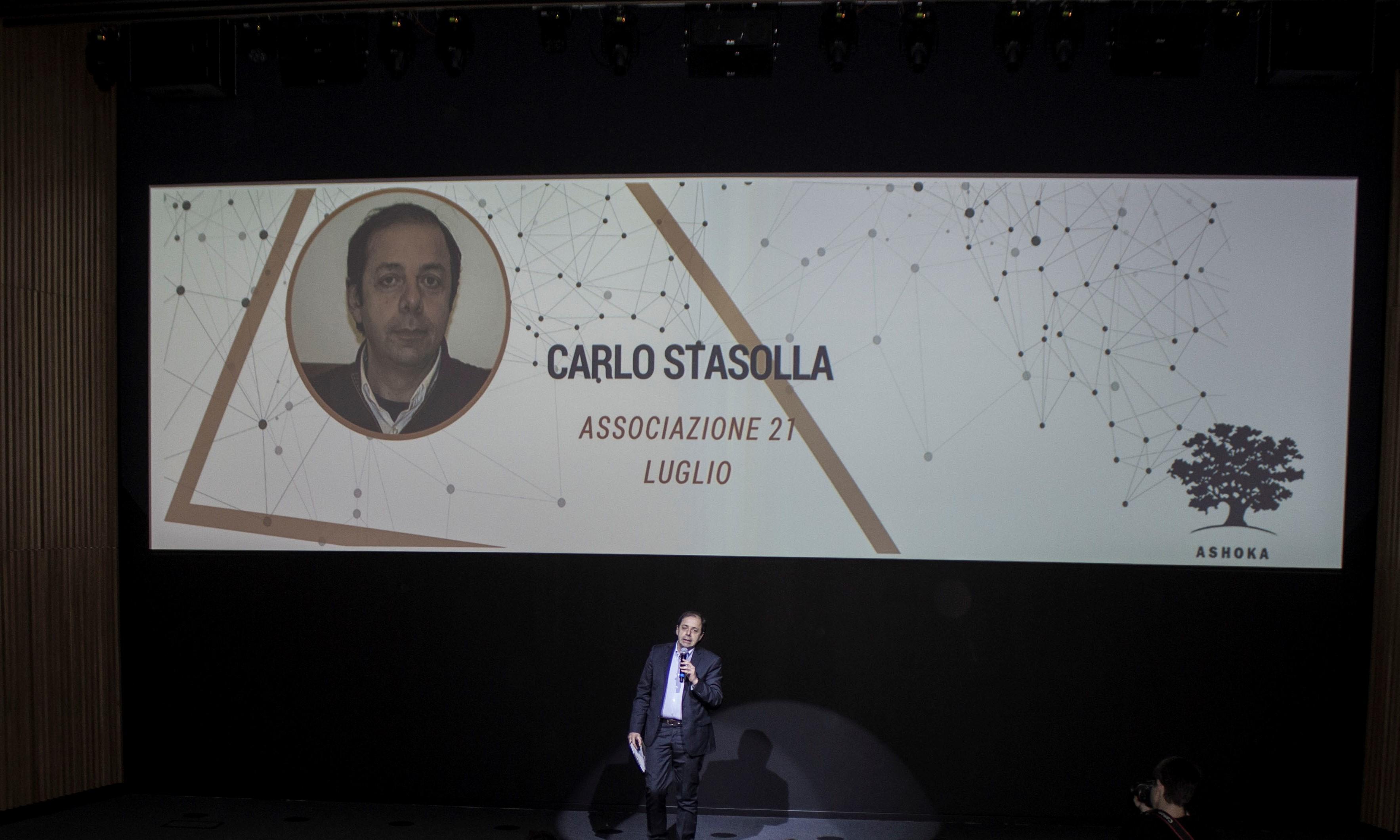 Carlo Stasolla presenta l'Associazione 21 luglio
