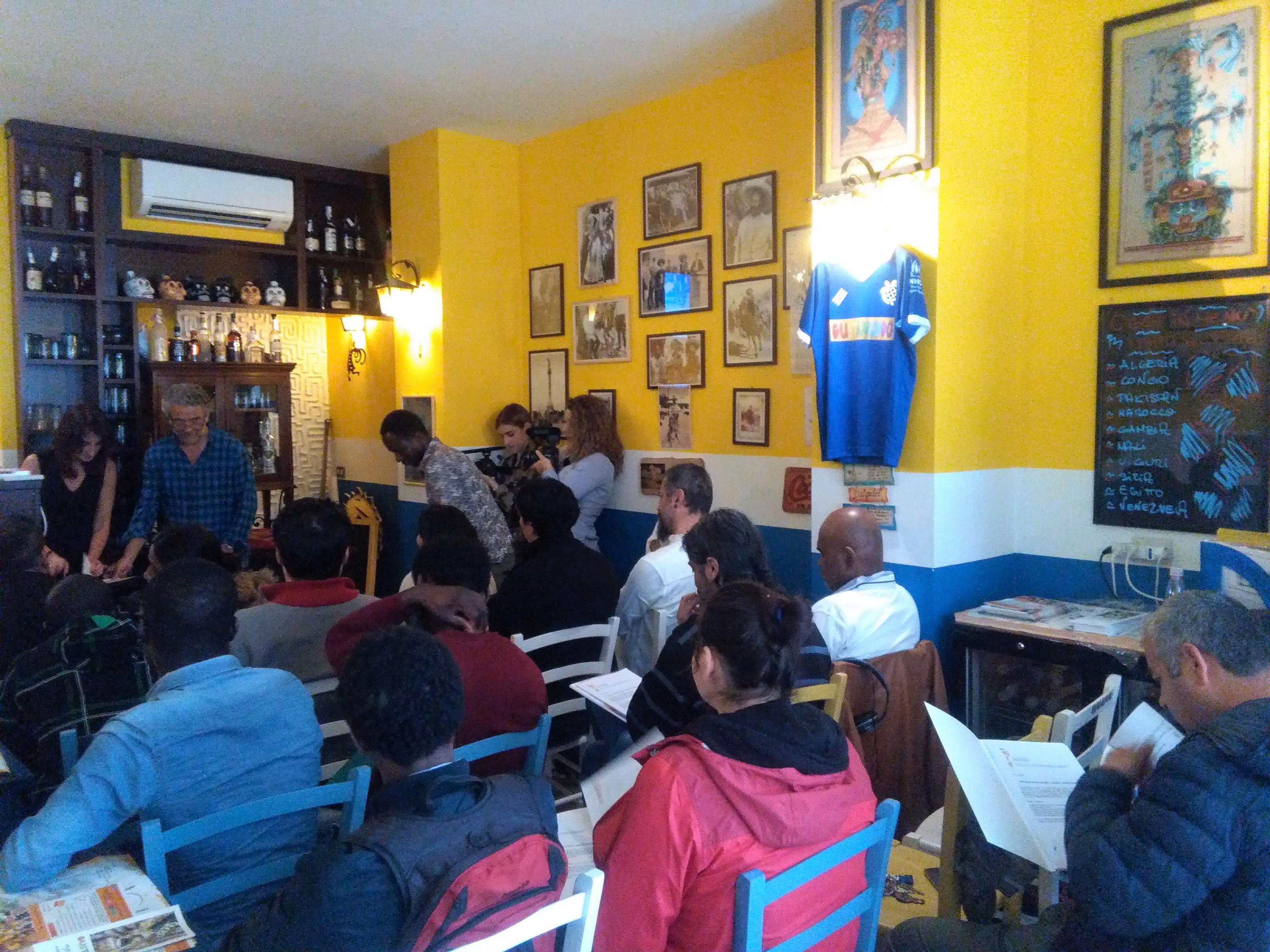 La presentazione del progetto presso Gustamundo