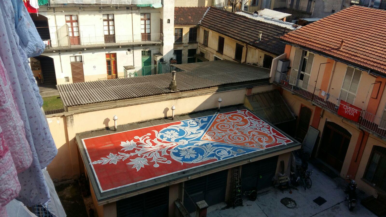 Il condominio di Via Cuneo 5 Bis (Torino)