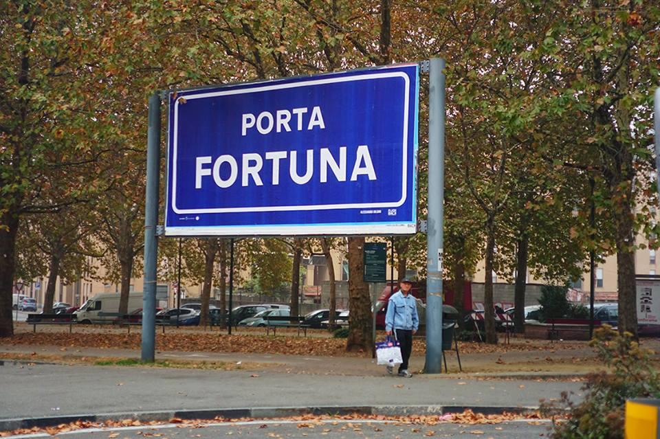 Opera Viva, Stazione Porta Fortuna, Barriera di Milano (Torino). Foto tratta dalla pagina Facebook di Alessandro Bulgini