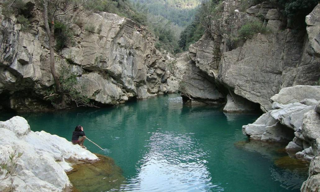 Le piscine naturali della Val Bevera, meta del sentiero del sabato mattina