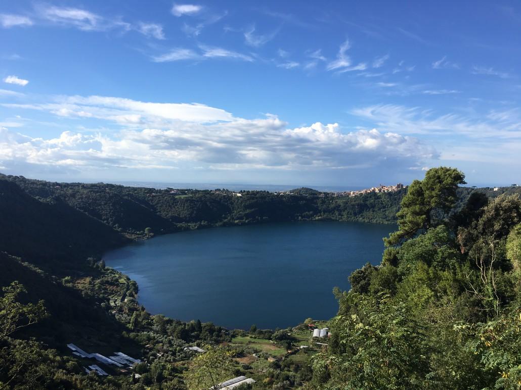 Lazio, lago di Nemi